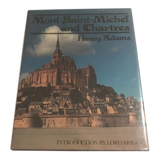 "1985 ""Mont-Saint-Michel and Chartres"" First Edition Book For Sale"