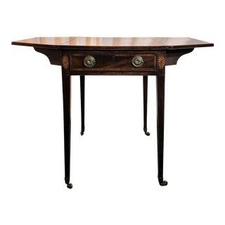 Antique English Sheraton Pembroke Table, Circa 1790-1800. For Sale