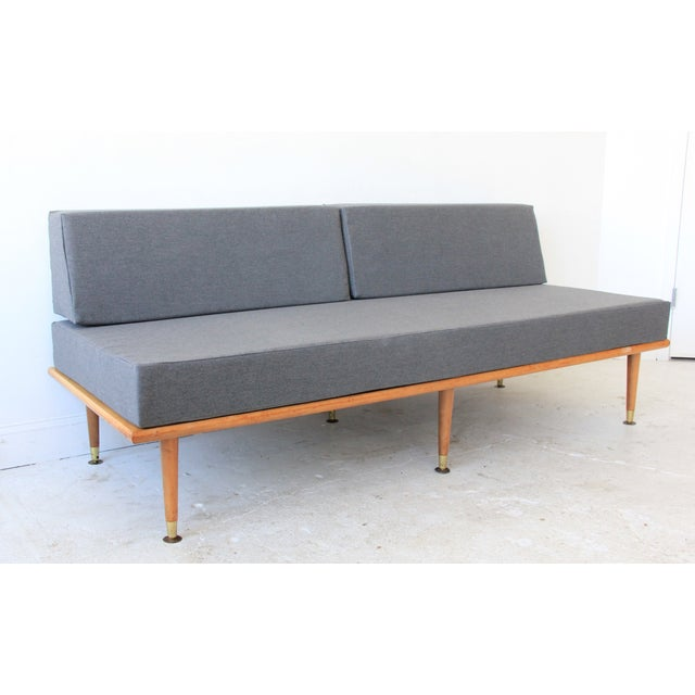 Mid-Century Modern Daybed in Granite Gray - Image 2 of 8