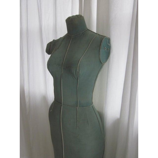 Unusual Full Body Antique Mannequin Form - Image 6 of 8