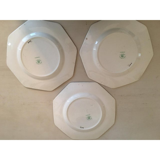 Mid 20th Century Vintage Wedgwood Silhouette Plates - Set of 3 For Sale - Image 5 of 5