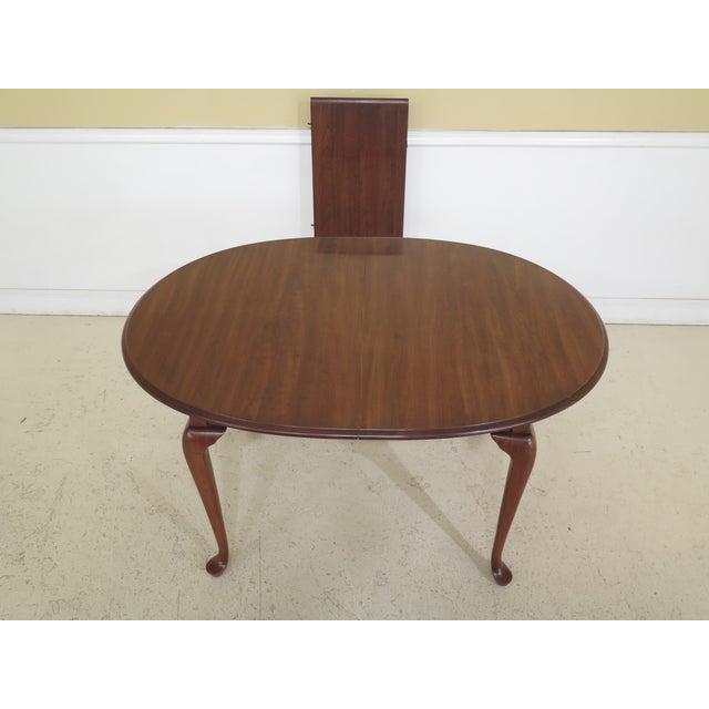 Pennsylvania House Oval Cherry Dining Room Table