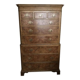 Chippendale Highboy Chest by Baker Furniture