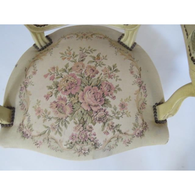 1950's Louis XV Chair For Sale - Image 9 of 9