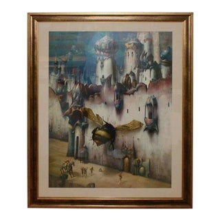 The Infinitesimal City by Gil Bruvel Early Piece Marked n.f.s. For Sale