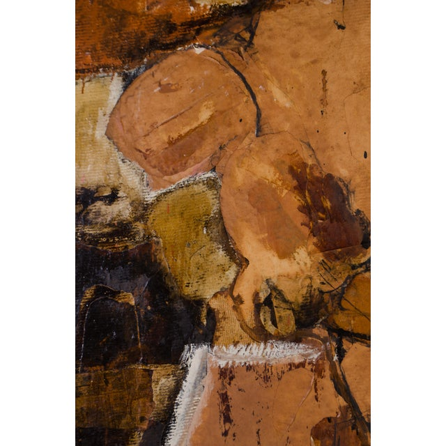 Abstract Expressionist Diptych by Hilda O'Connell, 1965 For Sale - Image 4 of 8