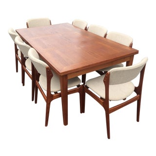 Eric Buck Teak Dining Set