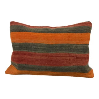 Turkish Stripe Handmade Pillow Case For Sale