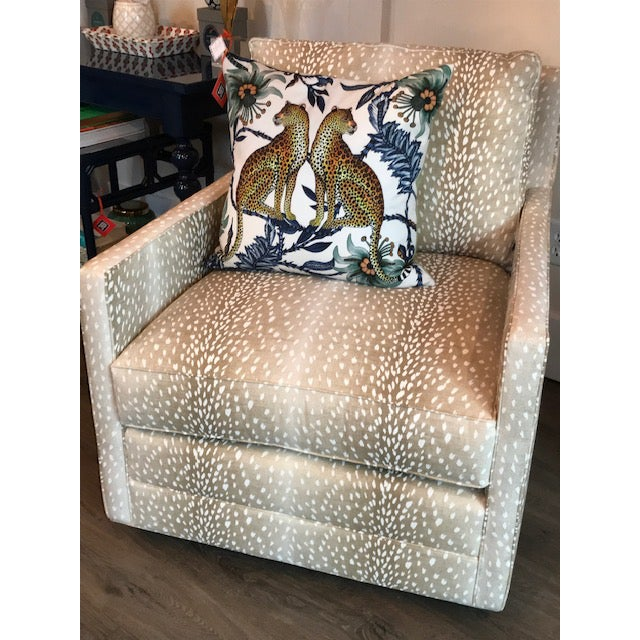 Traditional M/T Company Upholstered Chair For Sale - Image 3 of 5