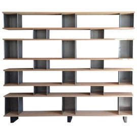 Image of Wood Wall-Mounted Shelving