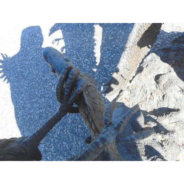 Bronze Eagle Fountain - Image 4 of 6