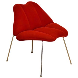 Marilyn Monroe Red Lips Chair