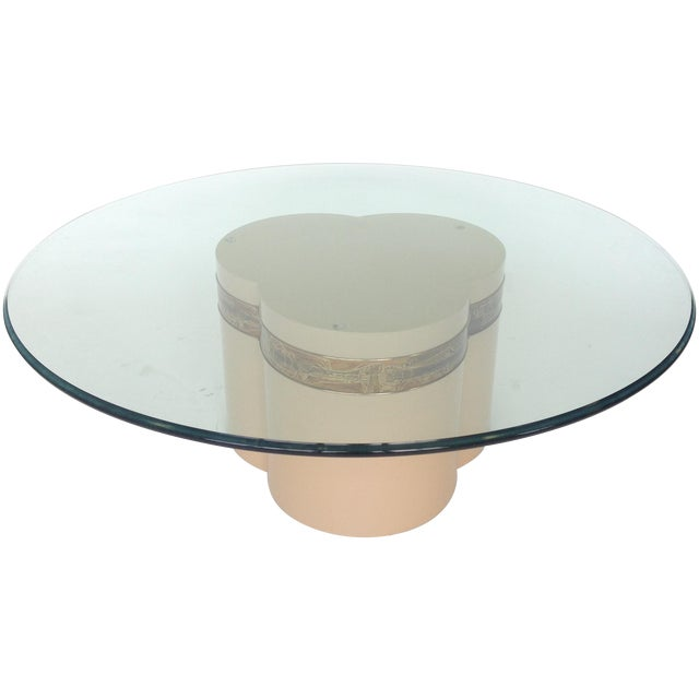 Bernhard Rohne Mastercraft Trifoliate Coffee Table For Sale