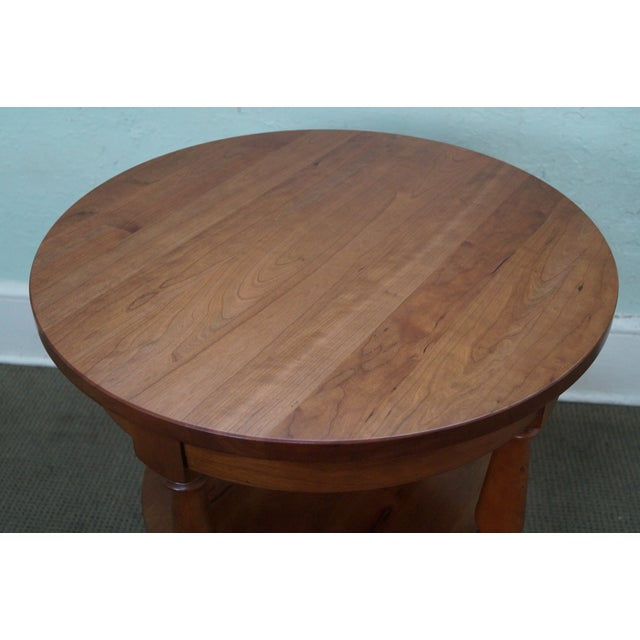 Harden Round 3-Tier Side Table For Sale - Image 4 of 10