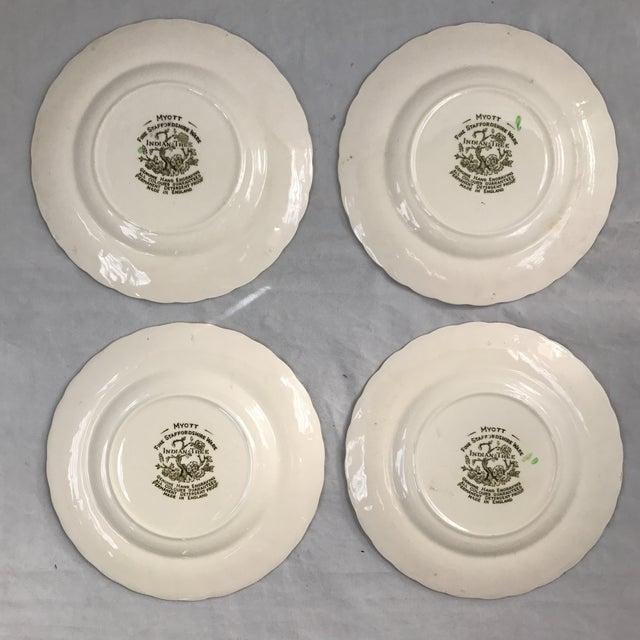 Myott English Staffordshire Bread & Butter Plates - Set of 4 - Image 4 of 5