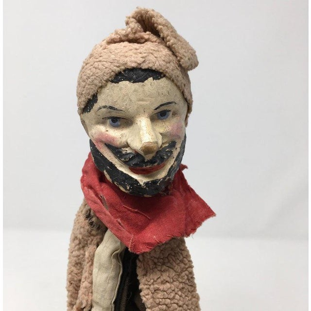 Black Antique French Marionette For Sale - Image 8 of 11