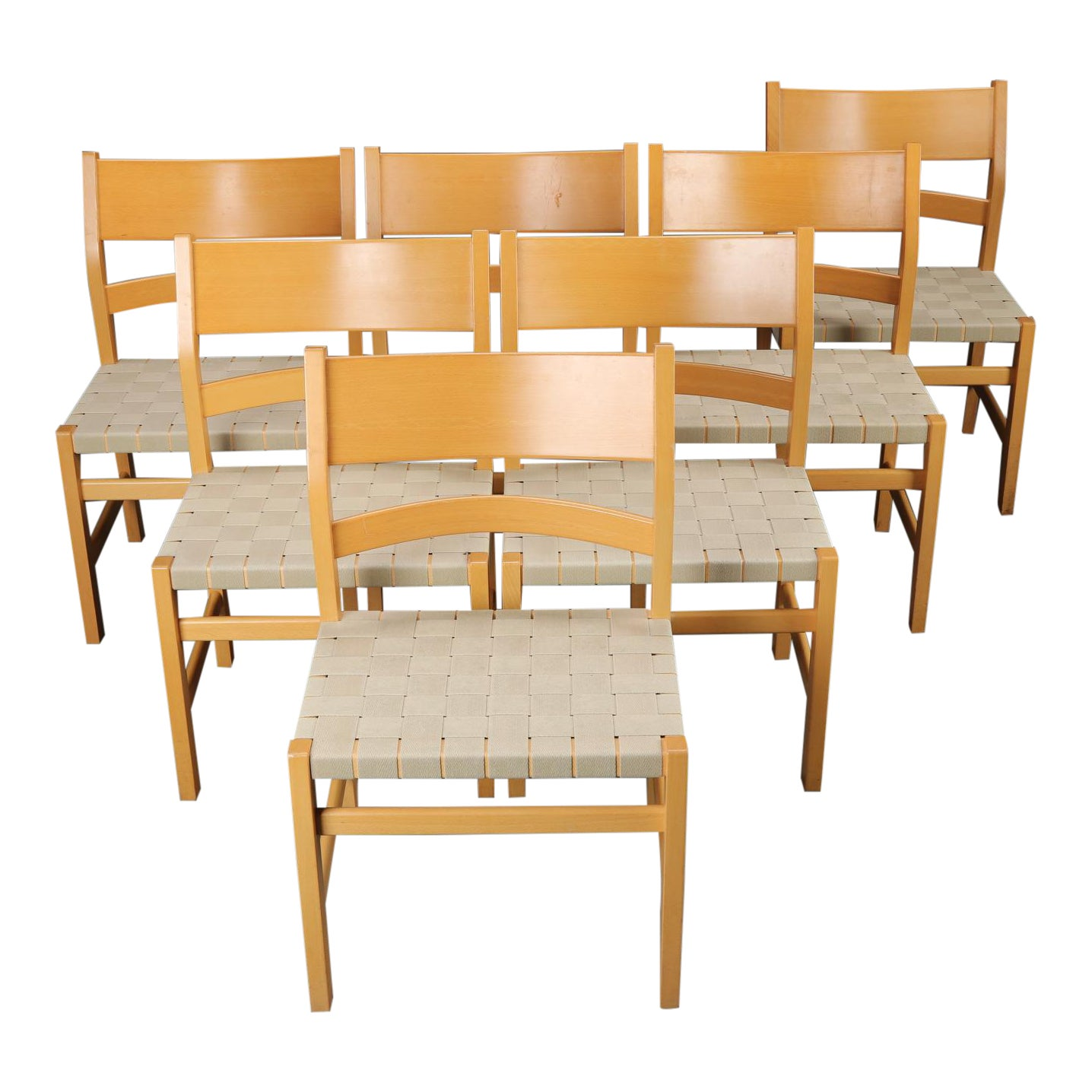 Danish Hans J Wegner Koldinghus For Getama Dining Chairs