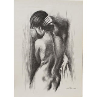 Ozz Franca Nude Woman Drawing For Sale