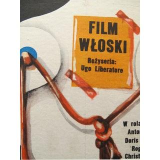 1973 Retro Polish Film Poster, Skeleton on String Preview