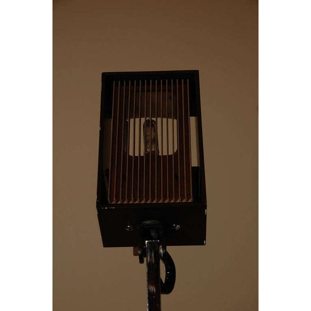 Black 1970s Counter Balance Task Lamp For Sale - Image 8 of 9