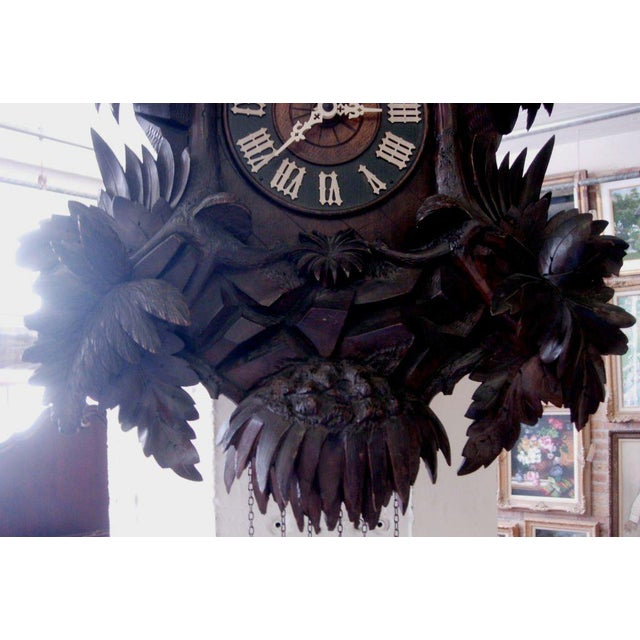 Black Forest 19th Century Black Forest Cuckoo Clock For Sale - Image 3 of 7