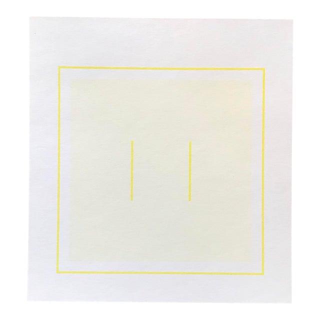 1970s Geometric #1 Serigraph Signed by Antonio Calderara For Sale