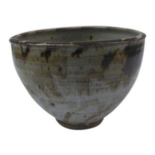 Terra Cotta Studio Ceramic Bowl For Sale