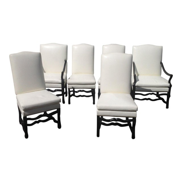 2010s Tuscan Style Dining Chairs - Set of 6 For Sale - Image 5 of 5