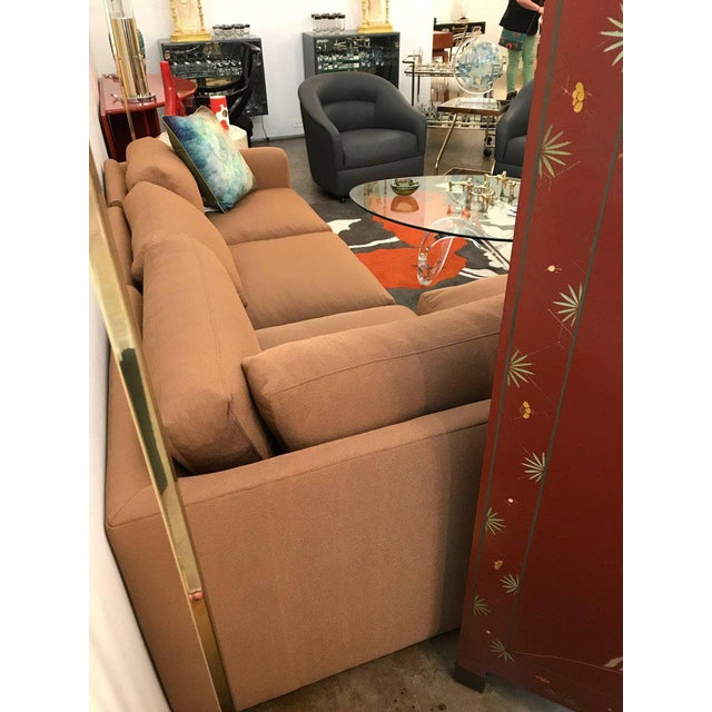 Mid Century Modern Milo Baughman for Thayer Coggin 5 Piece Sectional Sofa in New Knoll Upholstery - Image 7 of 7