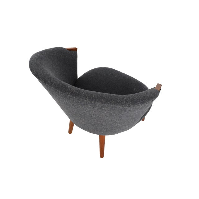 Bent Møller Jepsen Wool Lounge Chair - Image 7 of 8