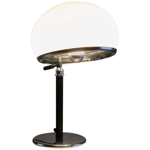 """Rare """"Bino"""" Table Lamp by Gregotti, Meneghetti, Stoppino for Candle For Sale"""