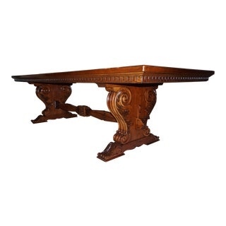 Ralph Lauren Cannes Trestle Dining Room Table