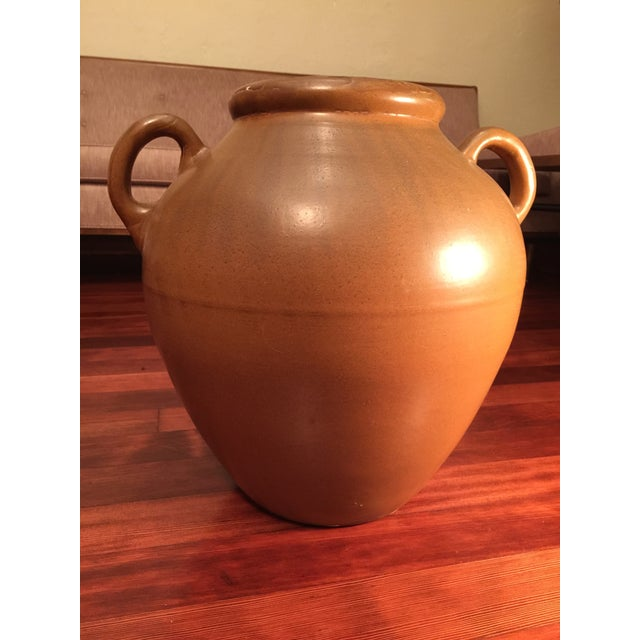 Handled Pottery Oil Jar - Image 4 of 8