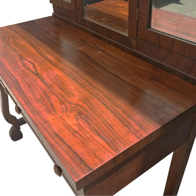 Antique American Empire Mahogany Ladies Vanity Desk - Image 3 of 5