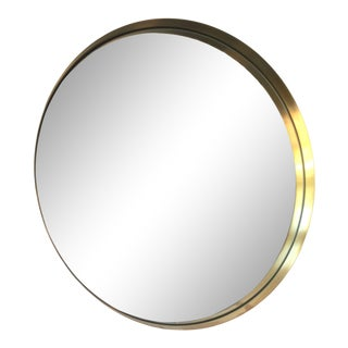 Brass Darkly Mirror by Menu For Sale