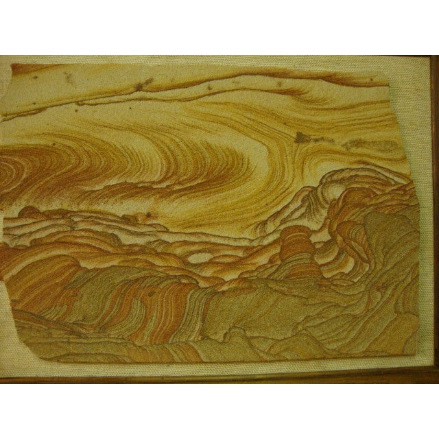 Mid-Century Sandstone Slab Wall Art - Image 3 of 5