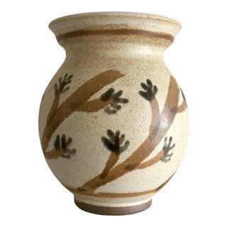 Walt Glass Art Pottery Cactus Flower/Wildflower Vase For Sale