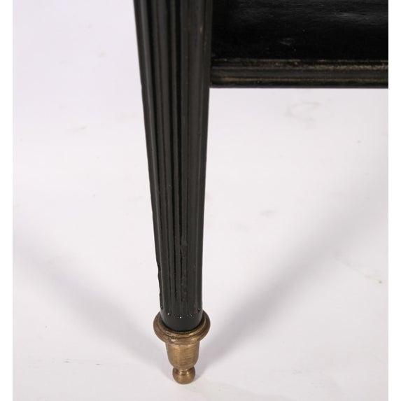 Directoire Style Ebonized Coffee Table - Image 6 of 6