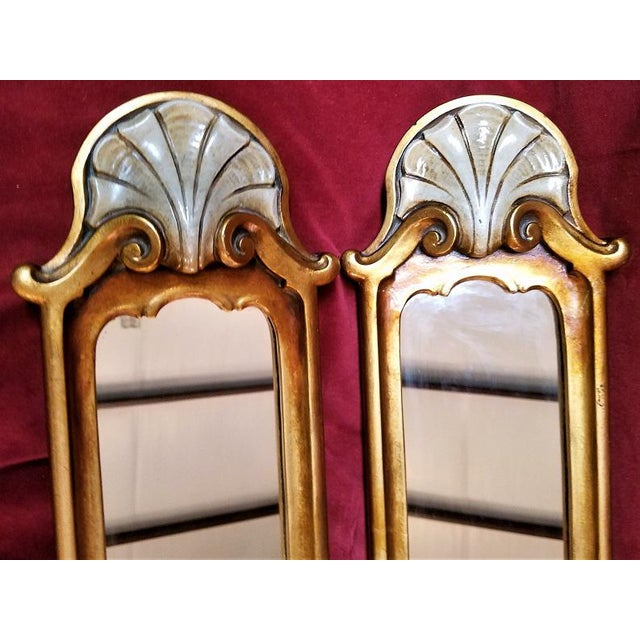 Art Nouveau Early 20c Pair of Pier Mirrors by Thorvald Strom For Sale - Image 3 of 14