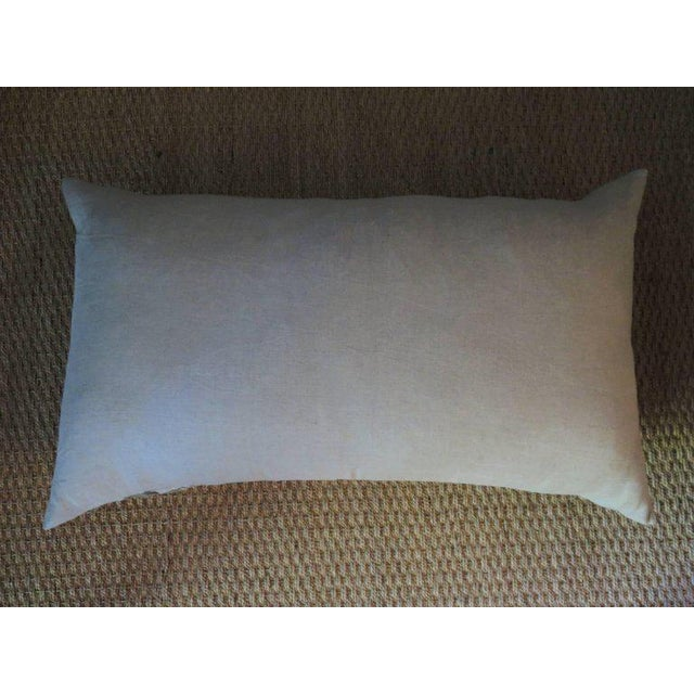 Venetian Linen Pillow For Sale - Image 4 of 5