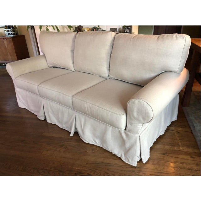 I was very excited when I ordered this sofa. It didn't fit our family. It was a Made to Order sofa and PB can't do a...