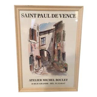 Saint Paul De Venice Framed Print For Sale