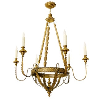 Randy Esada Designs Milano Italian Six Arm Chandelier