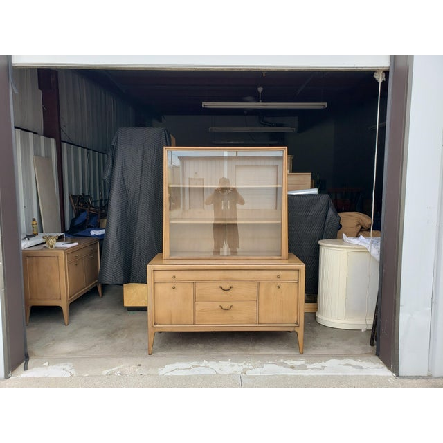Vintage 1960's Century Furniture China Cabinet For Sale - Image 10 of 10
