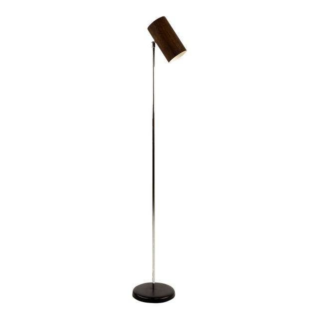 Mid century modern george nelson style wood floor lamp chairish mid century modern george nelson style wood floor lamp aloadofball Images