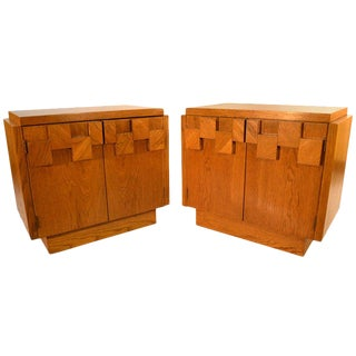 Pair Lane Night Stands / End Tables For Sale
