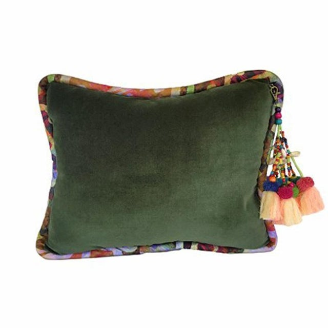 These luxurious velvet pillows are unique to Boho Luxe Home and compliment our wallpapers, fabrics and printed pillows....