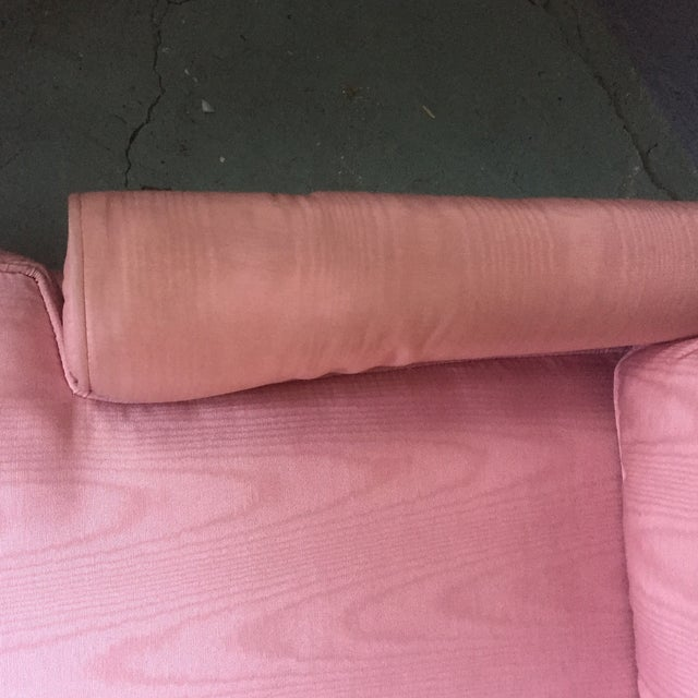 Vintage Pink Chaise Lounge - Image 6 of 11