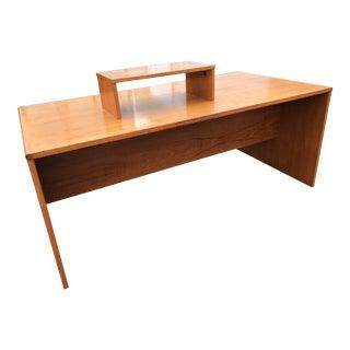 Danish Teak Executive Desk by Jesper For Sale