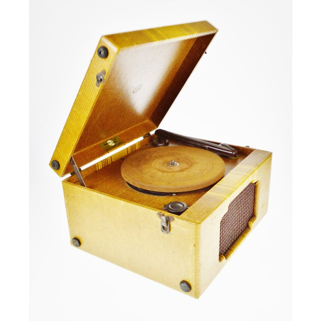 Vintage Andrea Gram 78 RPM Record Player For Sale - Image 4 of 9